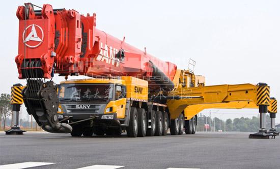 我院设计的三一汽车起重机荣获2010年中国创新设计红星奖金奖图片